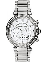 Michael Kors Women's Parker Silver-Tone Watch MK5353