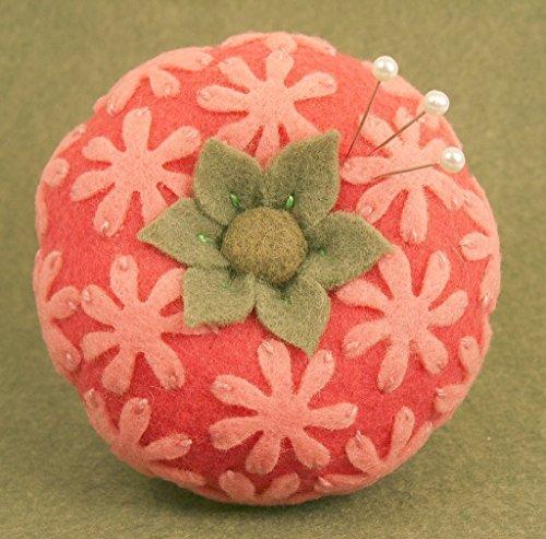 Handmade Throughly Girly Tomato Pincushion - Custom Made to Order