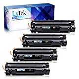 LxTek Compatible Toner Cartridge Replacement for Canon 137 9435B001AA to use with ImageClass MF236n MF247dw D570 MF227DW MF229DW LBP151dw MF217W MF216N MF249dw MF232w Printer (Black, 4-Pack)