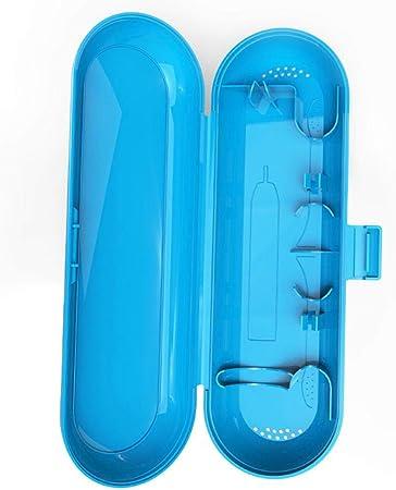 flyingx Caja de Almacenamiento para cepillos de Dientes eléctricos, Estuche de Viaje de plástico para Braun Oral-B y Philips y Soporte para Cabezales de Cepillo de Dientes: Amazon.es: Hogar
