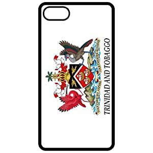 Trinidad And Tobaggo Coat Of Arms Flag Emblem Black Apple Iphone 5 Cell Phone Case - Cover