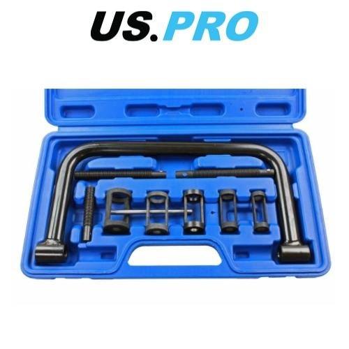 US-PRO 9 Piece PRO Valve Spring Compressor Kit-USP5582 US PRO