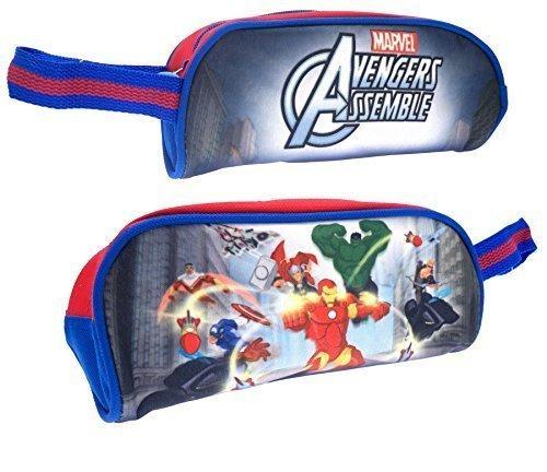 Wl Avengers Assemble Marvel Comic Super Hero Pencil Case Kids Childrens School Stationery