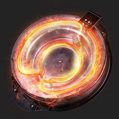 Grill électrique 2-in-1 multi-fonction Hot Pot A Torréfaction Lavable corps entier 1800W, bain multi-cuiseur XL Teppanyaki BBQ 4L
