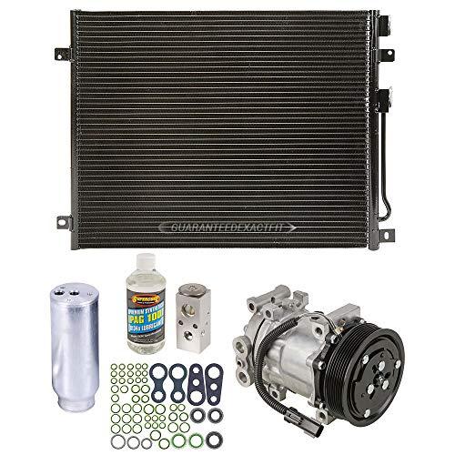 A/C Kit w/AC Compressor Condenser & Drier For Dodge Durango 2000 - BuyAutoParts 60-82414CK New