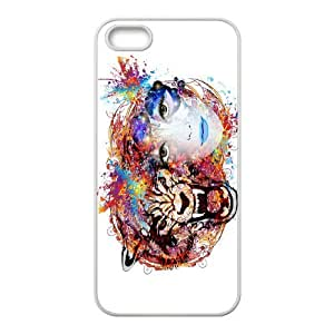 Iphone 5,5S Tiger Phone Back Case Use Your Own Photo Art Print Design Hard Shell Protection MN074647