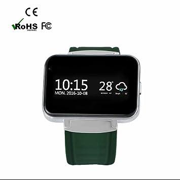 SmartWatch Bluetooth reloj Intelligent con Notificaciones Intelligents,Seguimiento de calorías,Análisis de Sueño,