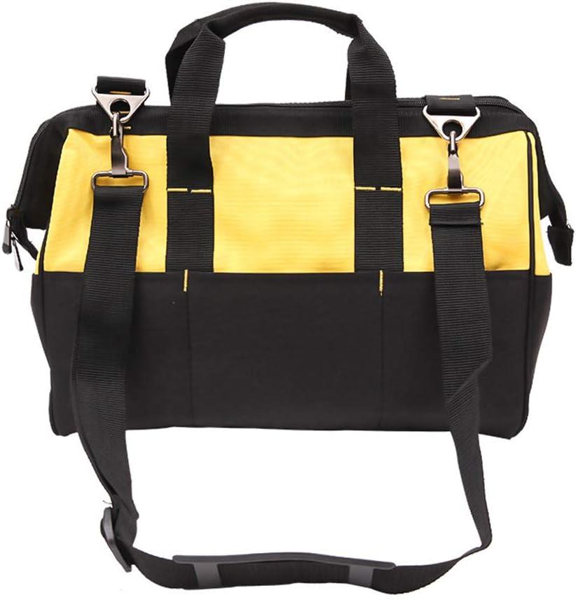 con hombro y asa Bolsa de herramientas para electricista bolsa de almacenamiento de herramientas multifunci/ón para t/écnico para hombres y mujeres bolsa de herramientas profesional