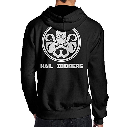 Psy Hail Zoidberg Hydra Black Print Sweatshirts For Men Size L (Dr Zoidberg Costume)