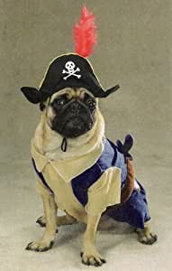 SMALL - PIRATE PUP - Pet Halloween Costume