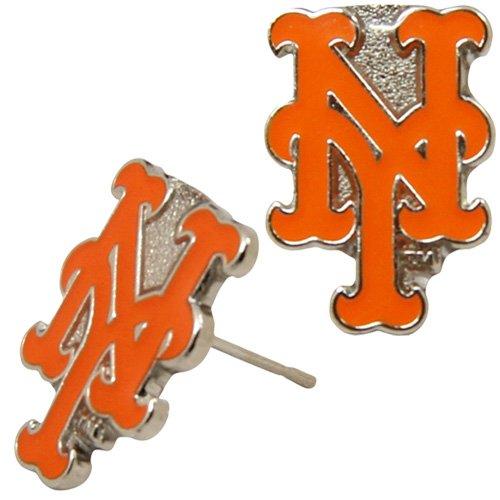 new york mets earrings - 1