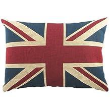 Union Jack Tapestry Cushion [Kitchen] (japan import)