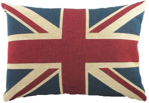 (Union Jack Tapestry Cushion)