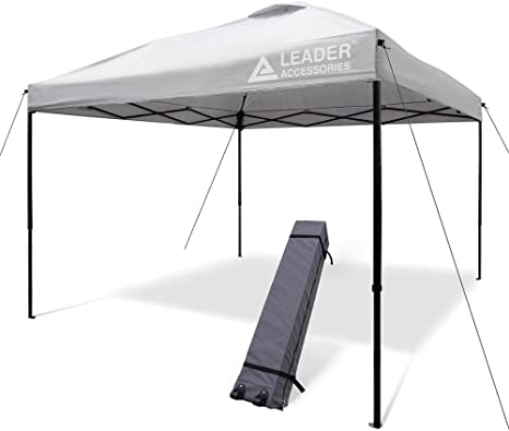 Leader Accessories Pop Up Canopy Tent - Affordable Best Pop Up Canopy For Wind