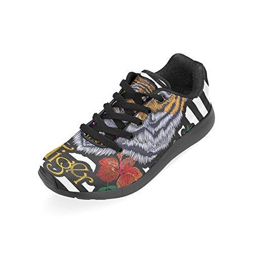 D-histoire Jogging Running Sneaker Femmes Confort Décontracté Sport Marche Chaussures De Course Multi10