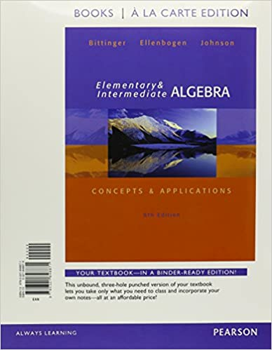 Elementary and intermediate algebra concepts applications books elementary and intermediate algebra concepts applications books a la carte edition 6th edition 6th edition fandeluxe Image collections