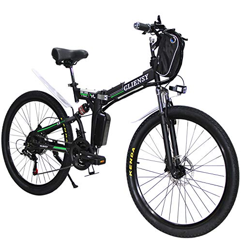 CLIENSY 26 Inch Electric Bike