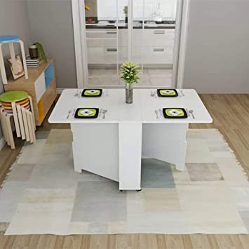 IG Mesa/Silla Plegable para el hogar, Mesa Rectangular ...