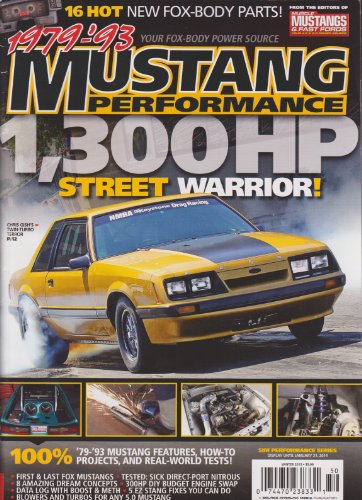 1979-93 Mustang Performance Magazine Winter - Magazine Performance Mustang