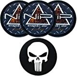 Nip Energy Dip Coffee 3 Cans with DC Crafts Nation Skin Can Cover - Punisher