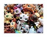 Littlest Pet Shop LPS Lot Random Surprise Gift Grab Bag 7 Pets Dog Cat Mixed EUC MINIFIGURE