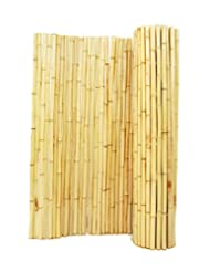 Backyard X-Scapes BAMA-BF05 Natural Rolled Bamboo Fence, 1\