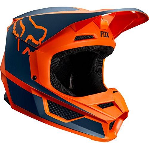 (Fox Racing 2019 Youth V1 Helmet - Przm (LARGE) (ORANGE))