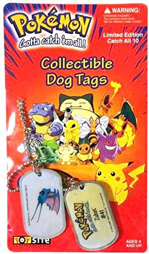 Pokemon Collectible Dog Tags [Edition 2] ()