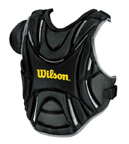 Wilson Pro Stock Hinge FX 2.0 Fastpitch Catcher's Chest Protector (Scarlet, 16.5-Inch) ()