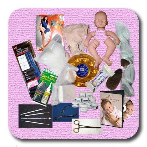 Reborn Megan Starter Beginner Doll Kit by Pat Moulton
