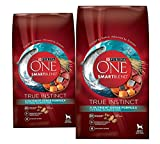 (2 Pack) Purina ONE Purina ONE Smartblend True Instinct Formula – Real Salmon & Tuna – 3.8 lb per bag For Sale