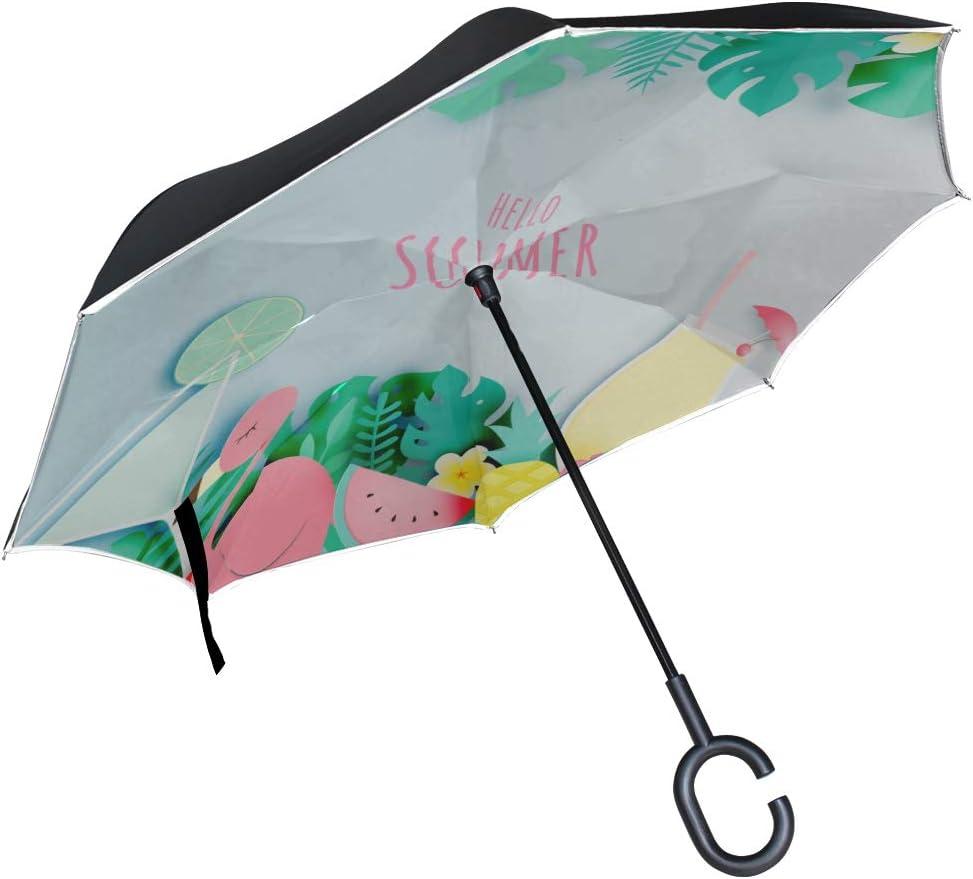 Sugar Skull Inverted Umbrella Umbrella Windproof Reverse Umbrella Umbrellas for Women