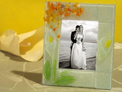 Murano Art Deco Collection Calla Lily Photo Frame C5053 Quantity of 1 ()
