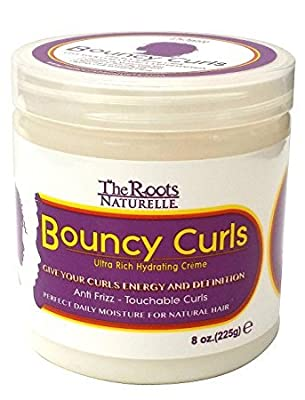 The Roots Naturelle Curly Hair Products Bouncy Curls. Moisturizing Anti-frizz Cream for Natural Hair