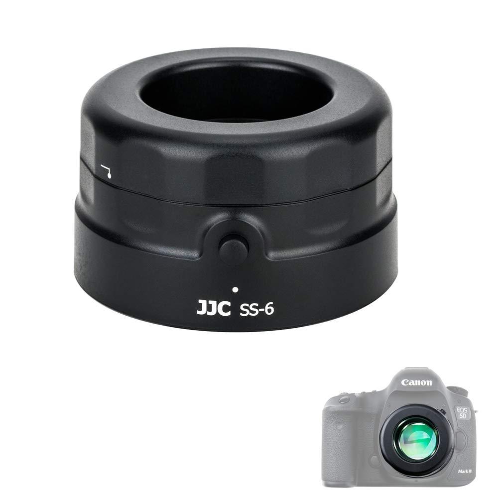 JJC 7x Camera Sensor Loupe Magnifier CCD CMOS Sensor Inspection Device Cleaning Tool for Canon Nikon Sony Fujifilm Panasonic Olympus DSLR Camera/Mirrorless Camera and More