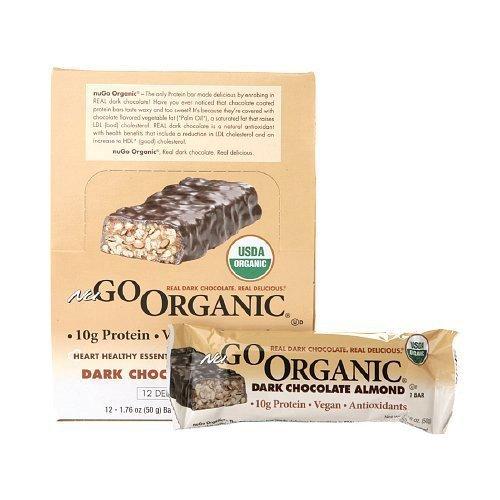 Nugo Dark Chocolate Almond Bar, 1.7-Ounce ( Value Bulk Multi-pack)