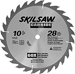 Skil 75128 Carbide-tipped 28-tooth Circular Saw Blade, 10""