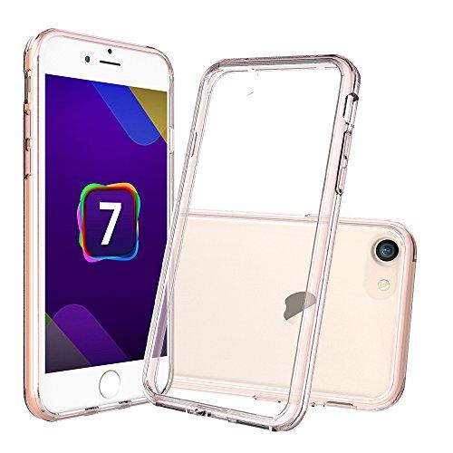 [해외]아이폰 7 플러스 클리어 케이스, AnoKe [스크래치 방지] 고무로 된 아크릴 하드 커버 TPU 범퍼 하이브리드 울트라 슬림 프로텍터 for Apple iPhone 7 Plus/iPhone 7 Plus Clear C