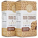 Partake Foods Crunchy Mini Cookies, Chocolate Chip Sprouted Grain, Vegan, Nut Free, Gluten Free Snack, Free of Top 8 Allergens, Lower in Sugar, High in Nutrition, Safe for the School Yard (2 Boxes)