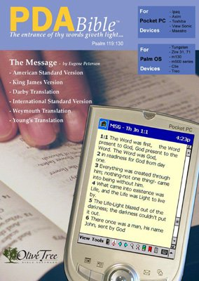 (The Message PDA Bible Package, includes Eugene Peterson's The Message along with ASV, KJV, Darby, ISV, Weymouth and Young's translations (for Palm OS and Pocket PC))