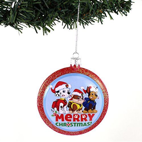 Paw Patrol Kurt Adler Disc Ornament