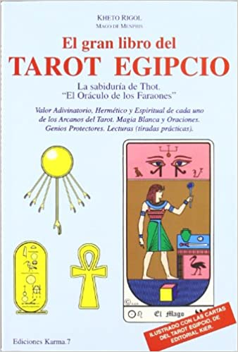 Gran Libro del Tarot Egipcio (Spanish Edition): K. Rigol ...