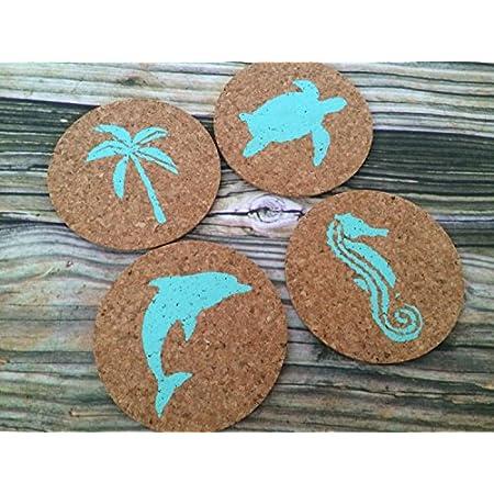 51KG0hxgnIL._SS450_ Beach Coasters and Coastal Coasters