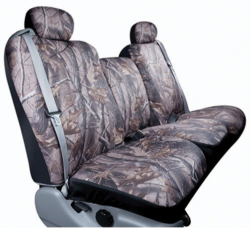 Saddleman Custom Made Front/Rear Bucket Seat Covers – Polyester Fabric (Camouflage)