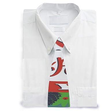MALPLENA - Corbata de satén para hombre con texto en inglés Merry ...
