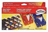 Testors 9185 Model Car Acrylic Paint Pot Set