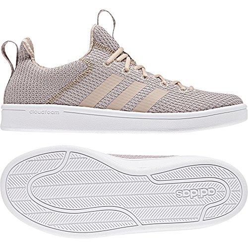 adidas Damen CF ADV Adapt W Gymnastikschuhe Grau (Vapour Grey F16/ash Pearl S18/ftwr Wht)