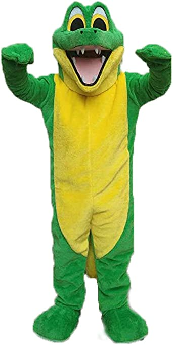 Krister - Disfraz de cocodrilo Verde para Adulto: Amazon.es: Ropa ...