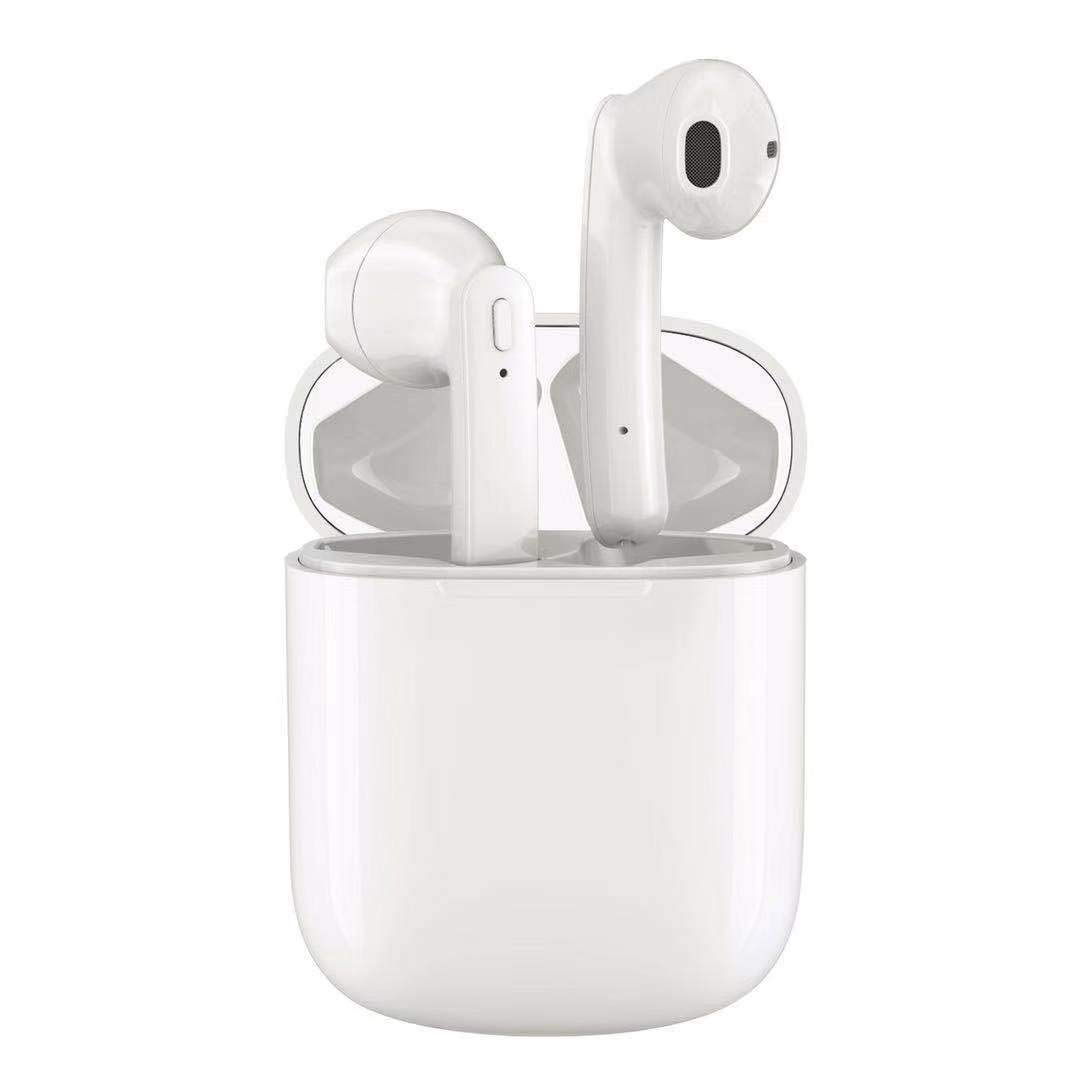 Wireless Earbuds Wireless Bluetooth Headphones,2019 Latest Intelligent Noise Reduction immersive Sound Support Fast Charging Pop-ups Auto Pairing for Samsung Apple Airpods Sports Earbuds