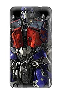Flexible Tpu Back Case Cover For Galaxy Note 3 - Optimus Prime